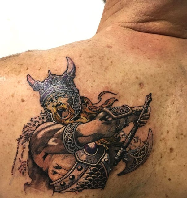 Did This Viking Yesterday
