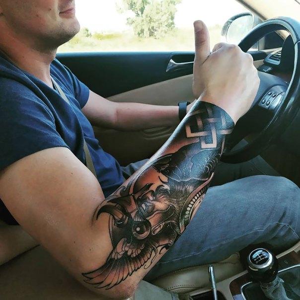 Fresh Viking Tattoo