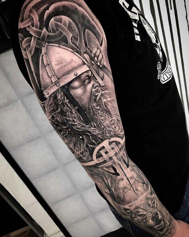 Viking Sleeve I Was Working On