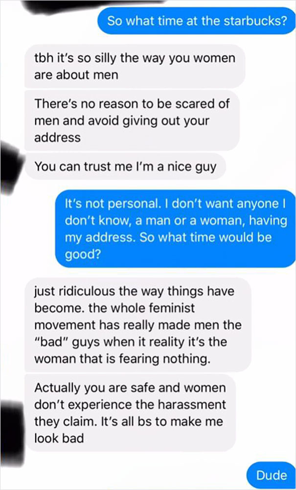 """Nice"""" Guy Tells Woman Selling An iPhone That She Shouldn't"""