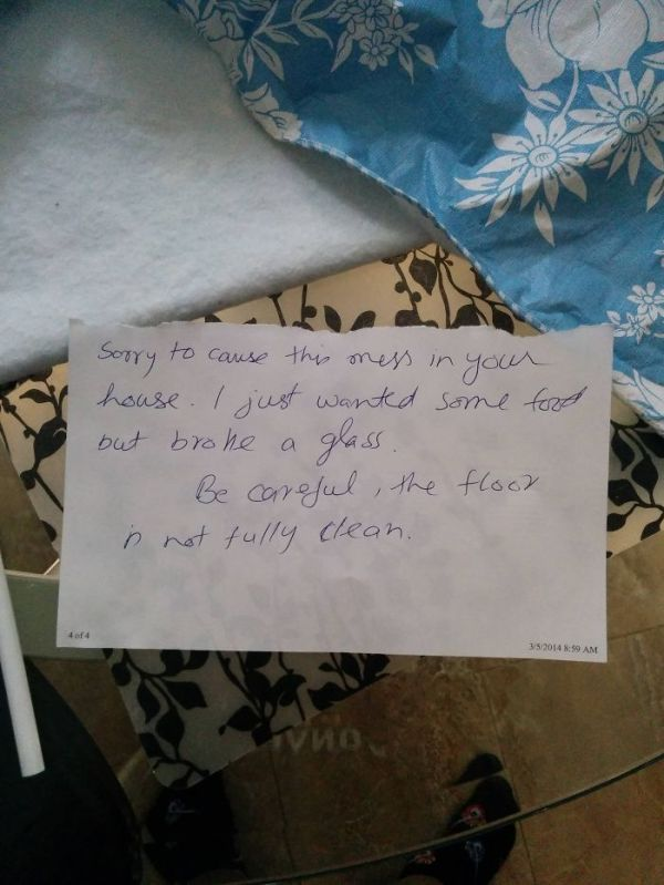 In Canada, Even The Robbers Are Polite