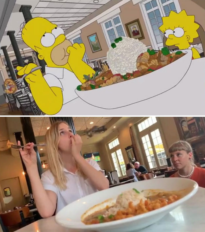 An Episode Of The Simpsons Recreated In Real Life Fun By Two Fans