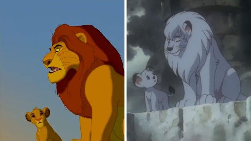 """lion king copy kimba disney 5 5d5cf76f7b287  700 - O verdadeiro Rei Leão? O reino de """"Kimba"""" O Rei Leão Branco"""