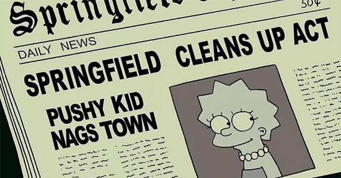 18966702 7508033 Twinning Fans are saying The Simpsons predicted Greta s existenc m 23 1569513538170 5d8daad802135  700 - Internet reage a fala de Greta Thunberg ser igual ao de Lisa Simpson