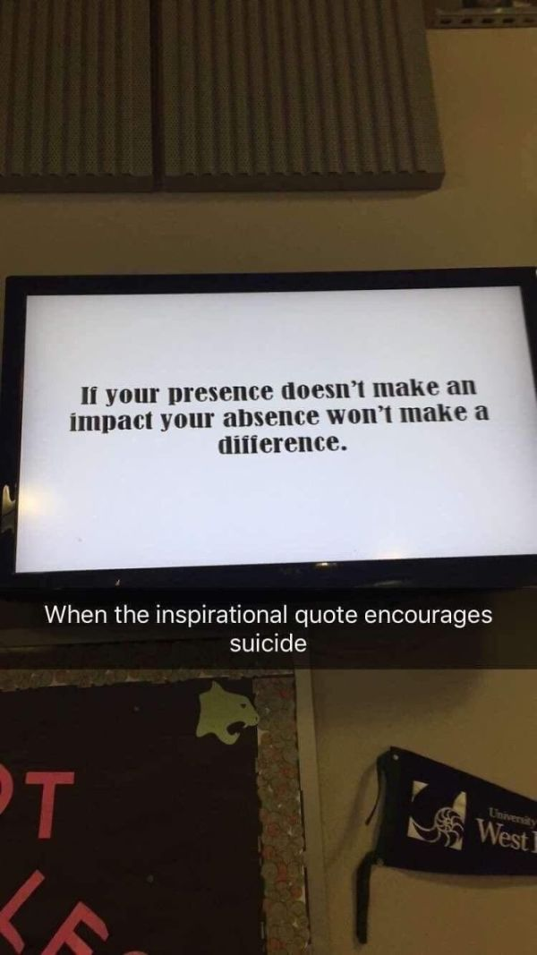 Interesting Take For A School Quote
