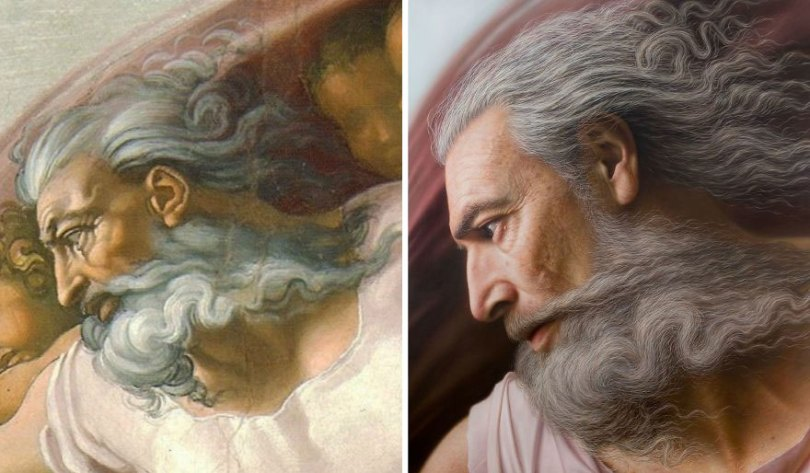 Artist makes hyperrealistic portraits with acrylic painting giving life to busts and antique paintings 5d76415179ba2  880 - Parece Real: Pintor sul-coreano faz obras hiper-realistas chocantes!
