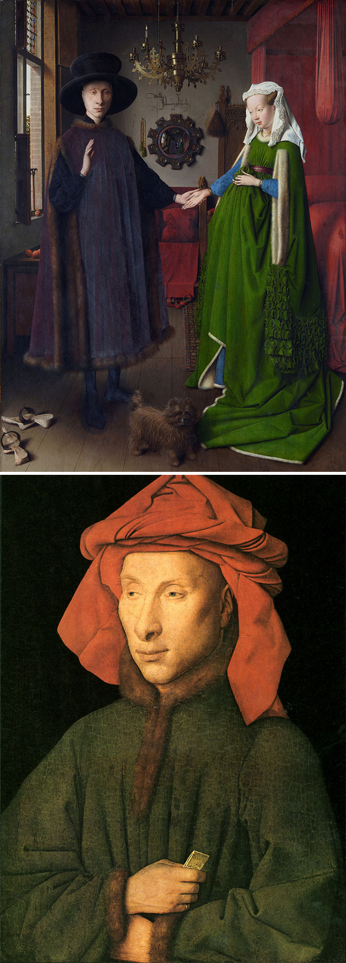 If Everyone – Including The Women – Looks Like Putin, Then It's Van Eyck
