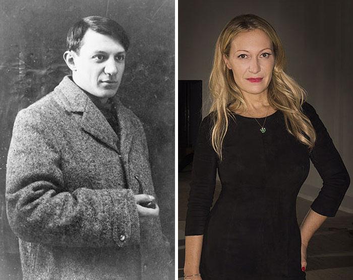 Pablo Picasso & Diana Widmaier Picasso