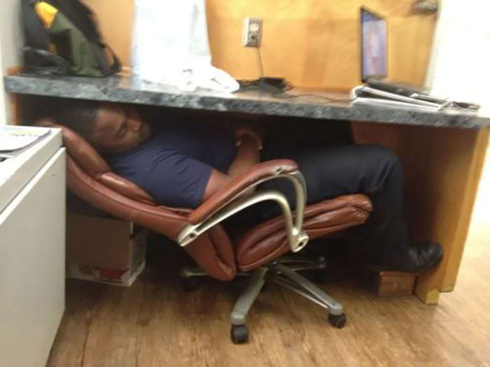 Have You Ever Heard About Sleeping Under The Table?