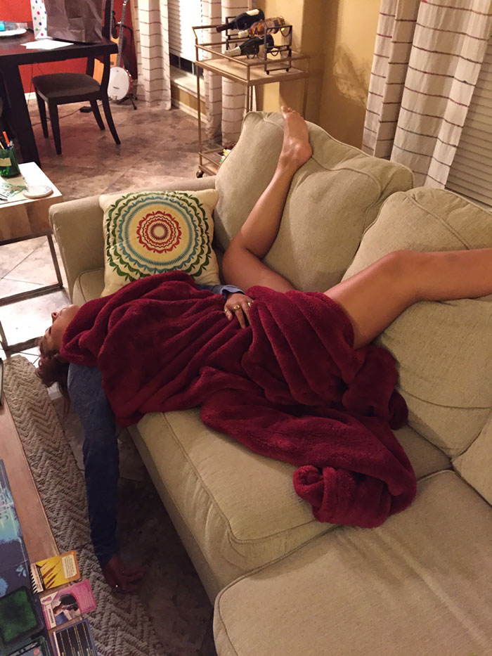 My Wife Naps Like This