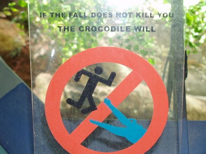 Crocodile Enclosure At Sydney Aquarium
