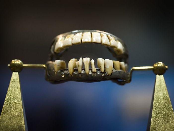 George Washington Did Not Have Wooden Teeth