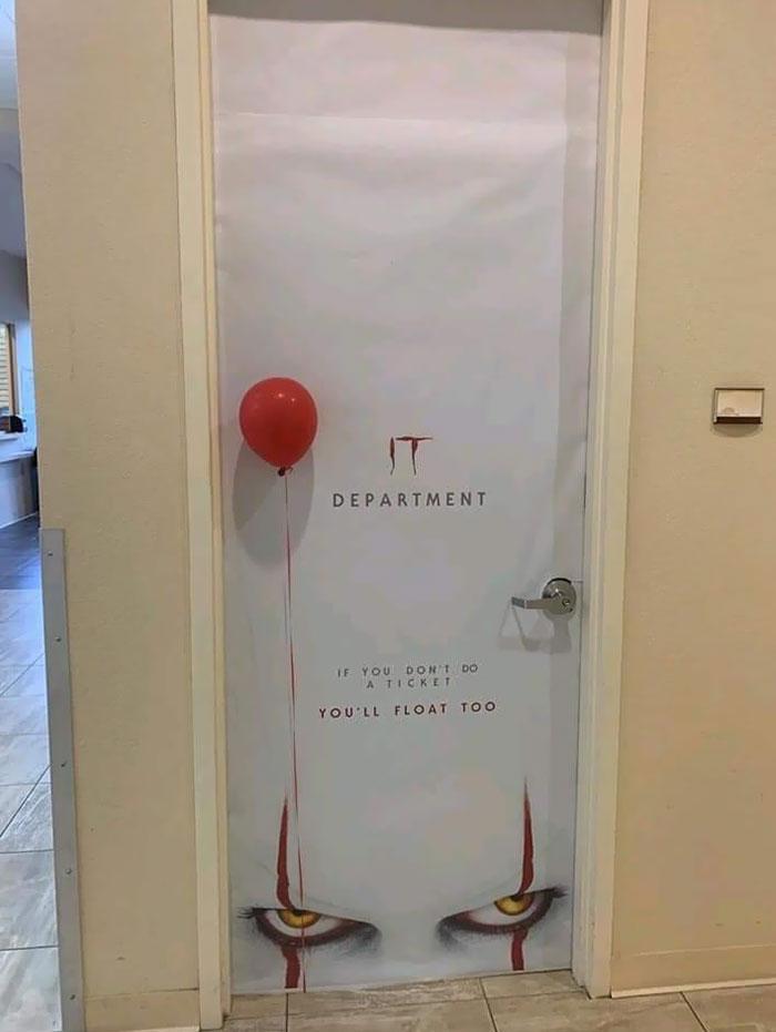 IT Department's Decoration