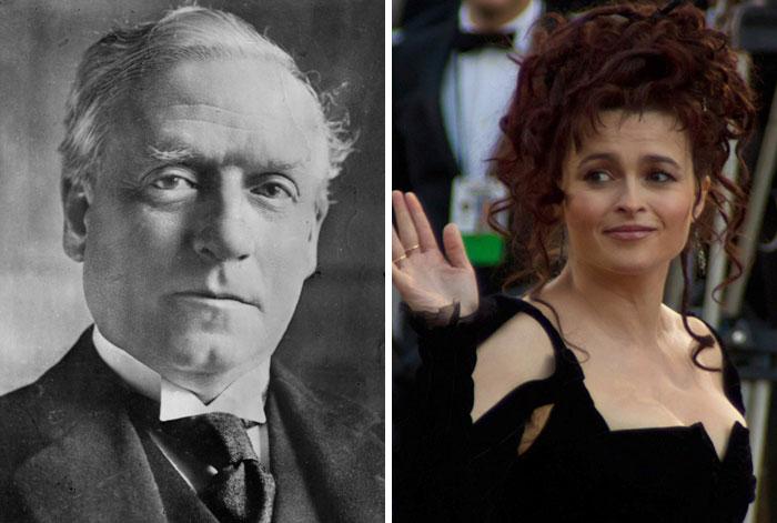 Herbert Henry Asquith & Helena Bonham Carter