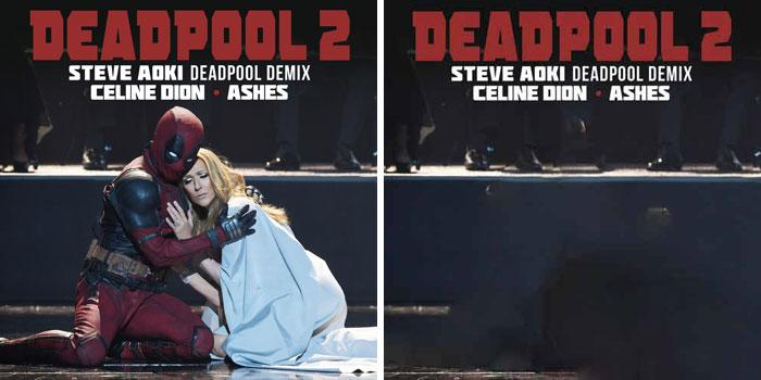 Céline Dion - Ashes Steve Aoki Deadpool Demix