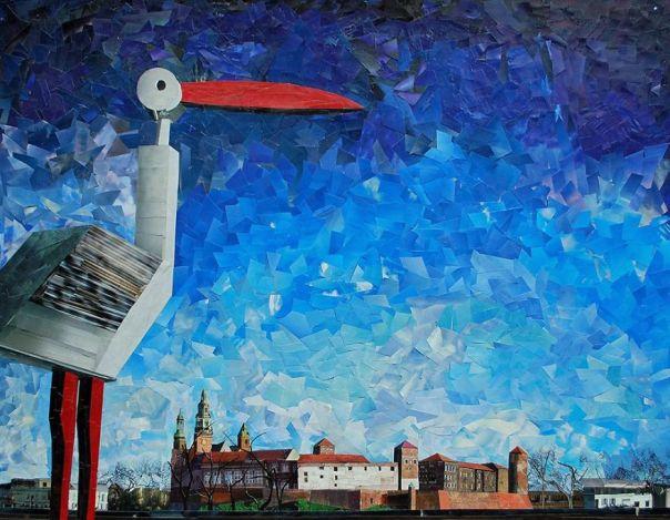 """Wawel"", 70x90 cm"