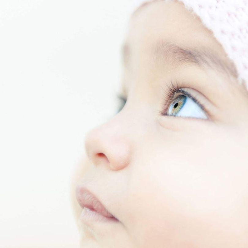Olhos de criança