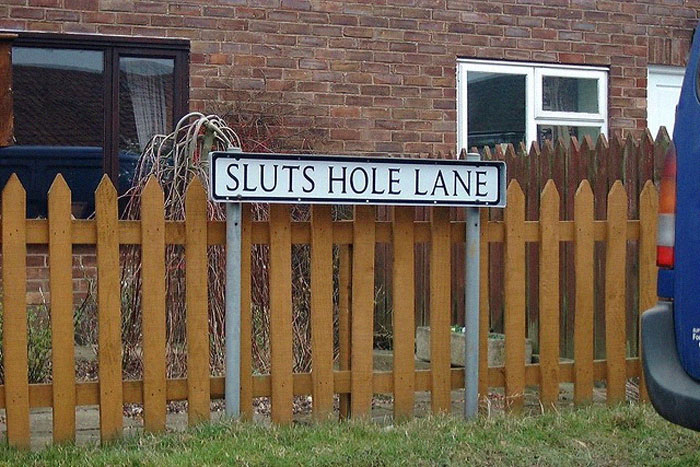 Sluts Hole Lane
