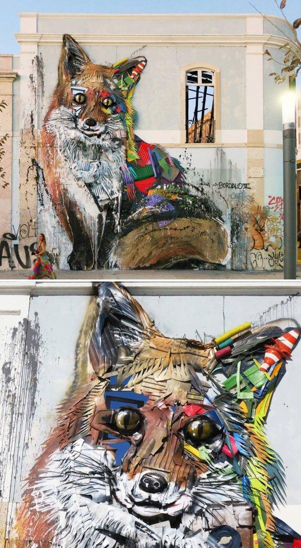 Trash Animals Sculpture