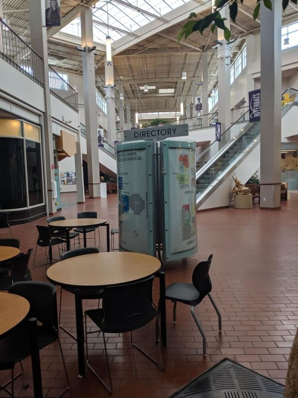 My College Used To Be A Shopping Mall