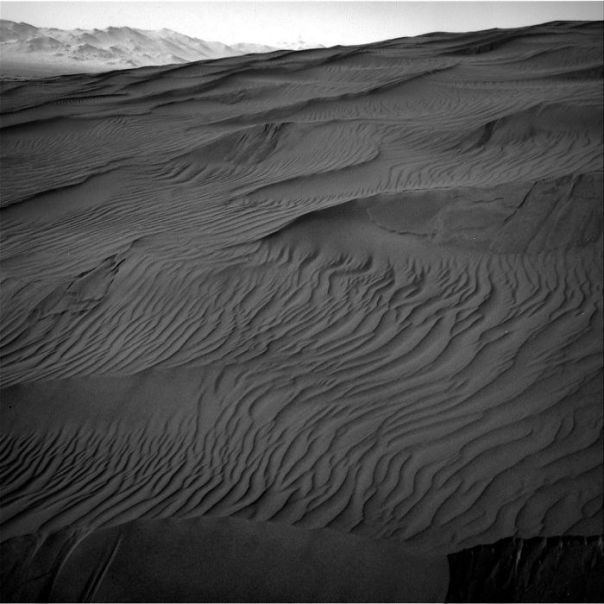 """Curiosity Arrived At This Active Sand Dune Named """"Gobabeb"""", Which Is Part Of A Larger Dune Field Known As """"Bagnold"""""""
