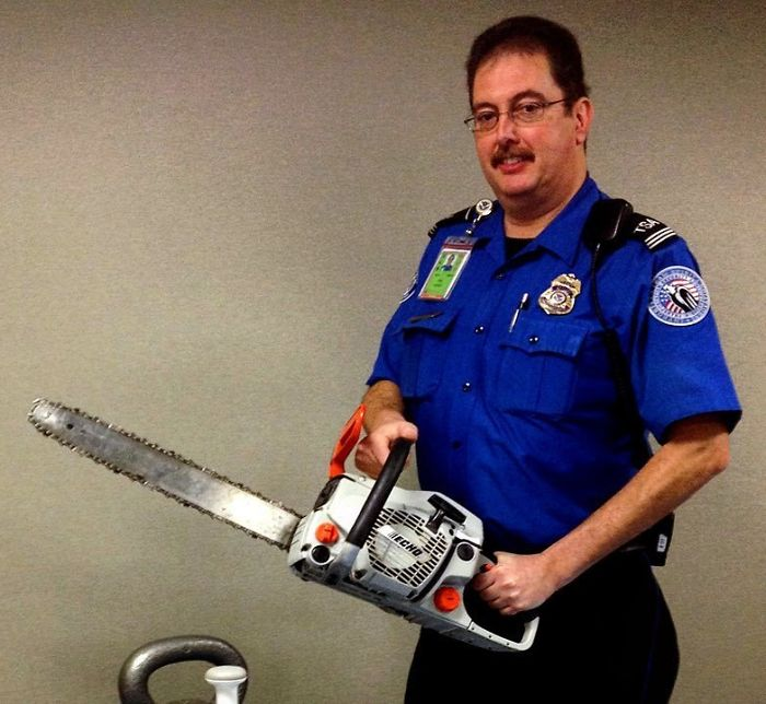 What We Can Tell You Is That Chainsaws Are Not Permitted In Carry-On Bags