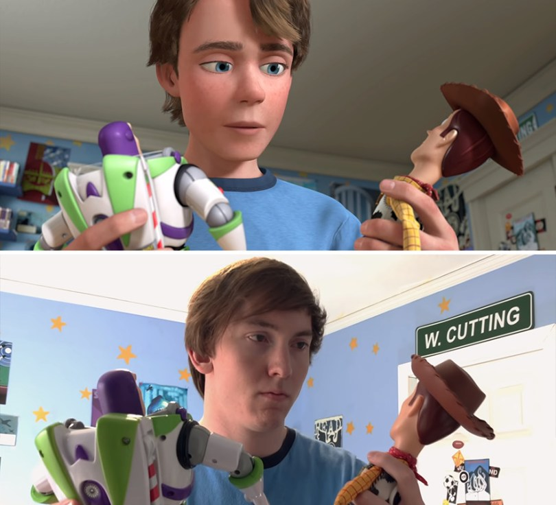 "Two brothers completely remake Toy Story 3 with real toys in 8 years 5e3154dc8fca9 png  880 - Inacreditável! Irmãos recriaram o ""Toy Sotry 3"" durante 8 anos"