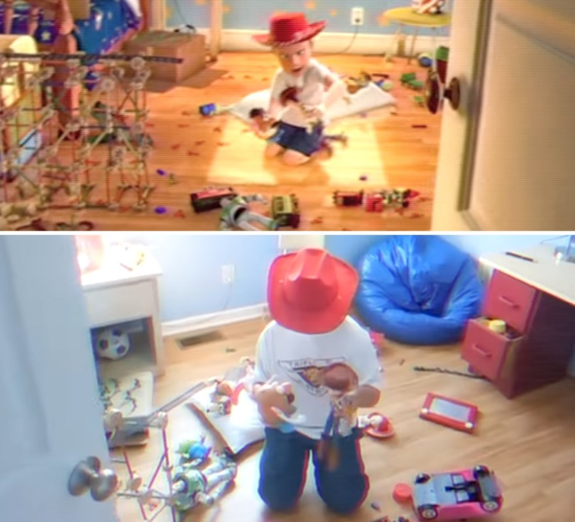"""Two brothers completely remake Toy Story 3 with real toys in 8 years 5e3154e39e9e1 png  880 - Inacreditável! Irmãos recriaram o """"Toy Sotry 3"""" durante 8 anos"""