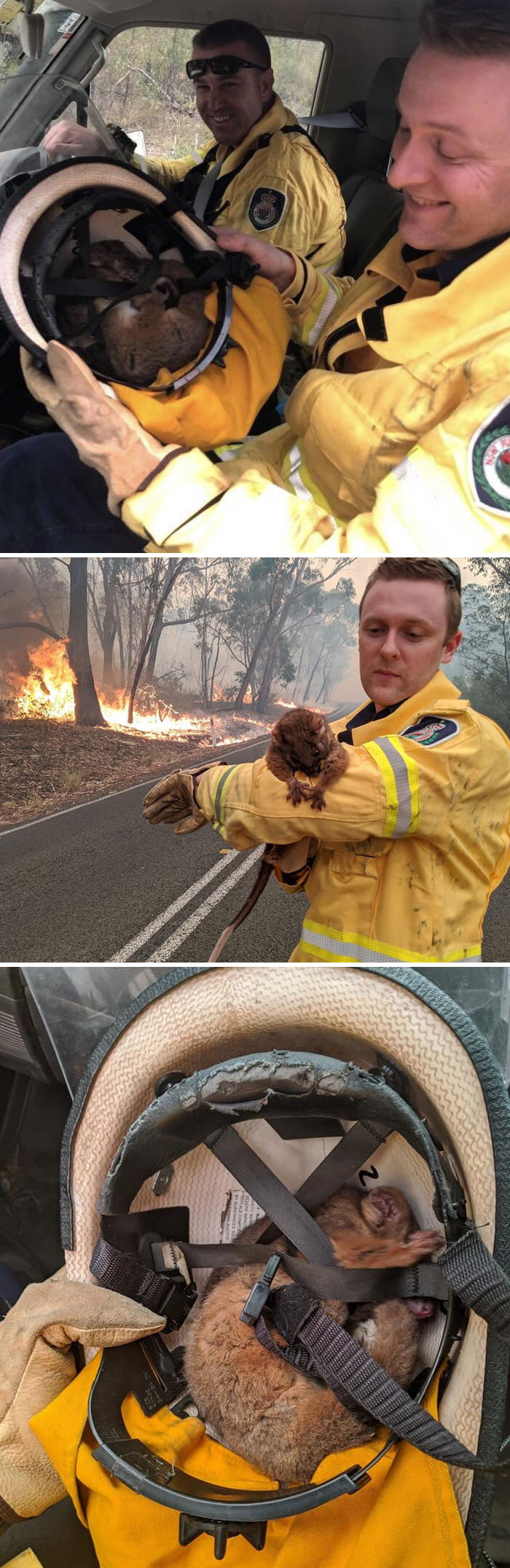 I'm So Proud Of My Country, Our Volunteer Firefighters Are Legends In Their Own Category
