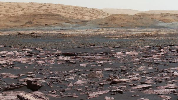 Multiple Layers Of Mount Sharp