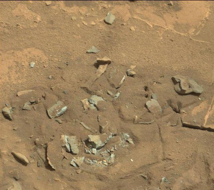 Bone Up On Mars Rock Shapes