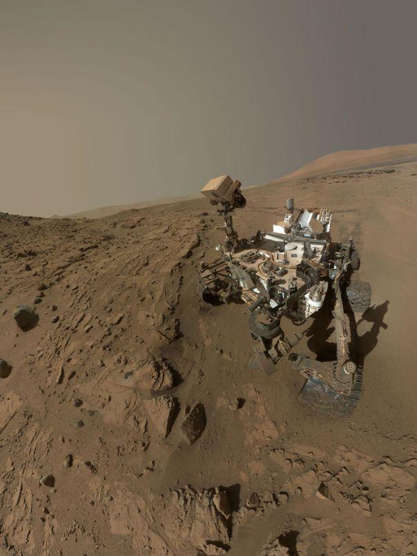 Curiosity Self-Portrait At 'Windjana' Drilling Site