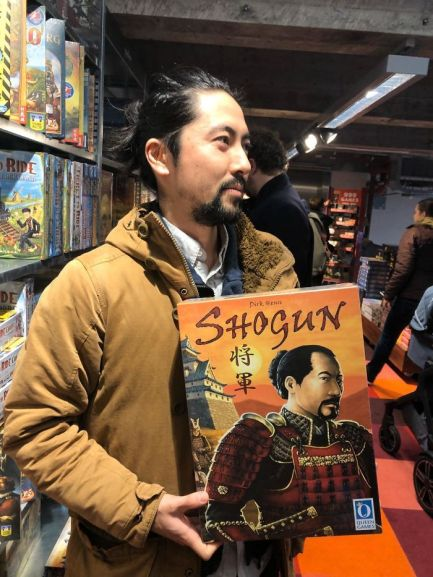 My Japanese Friend Found A Game About Himself In A Shop In The Netherlands