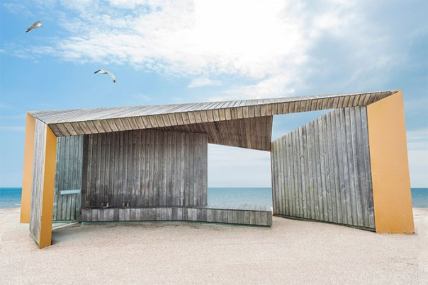 """Bexhill Promenade Shelter"" By Adam Regan"