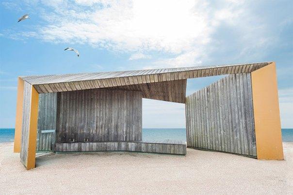 """Bexhill Promenade Shelter"" By Adam Regan"
