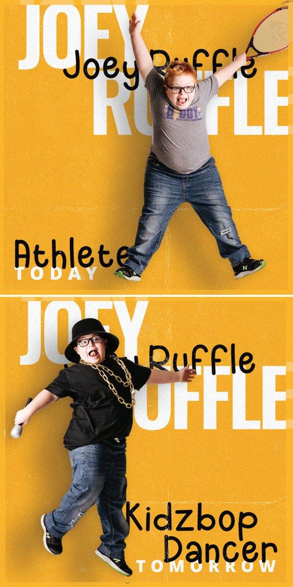 Joey Ruffle, Kidzbop Dancer
