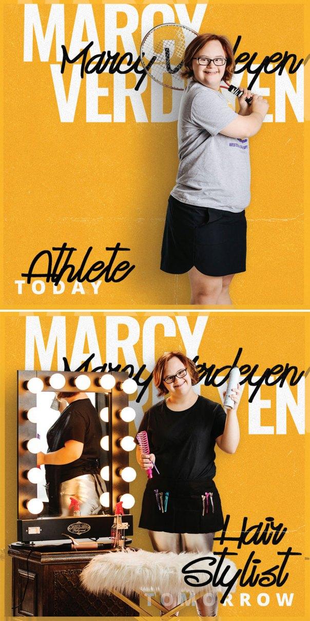 Marcy Verdeyen, Hair Stylist