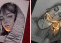 Artist Makes His Pencil Drawings Glow With Life, And They're Mesmerizing (26 Pics)
