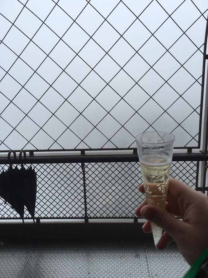 Wife And I Visited The Eiffel Tower For Our Honeymoon