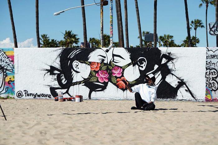 Los Angeles, USA. Artist: Ponywave
