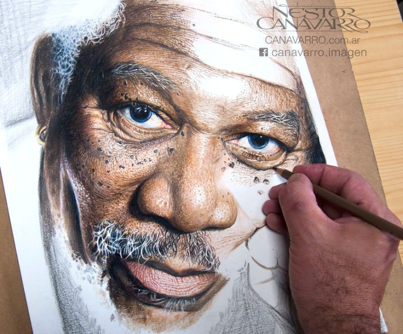 More Hyper Realistic Colored Pencil Drawings 5e753bba0844e  880 - Os desenhos hiper realistas de Nestor Canavarro