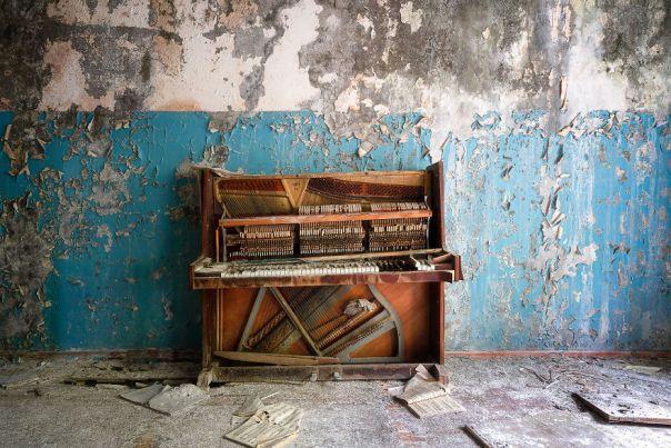 Abandoned School In Abkhazia