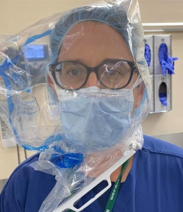 This Is An Anesthesiologist, Dr. John Henao, Who Is Running Out Of Ppe (Personal Protective Equipment) At His Hospital