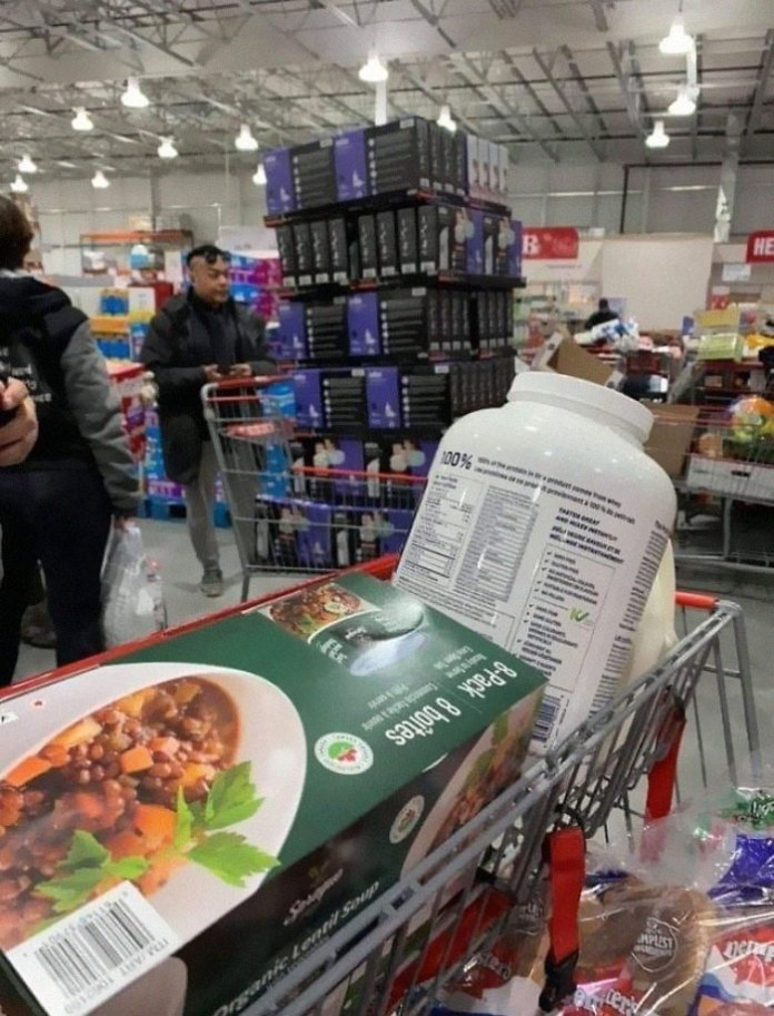 Another Profiteer Clearing Out Thermometers At Costco. Spent His Time In The Line Up Bragging How Much Money He Would Make Marking Up The Sale Of These