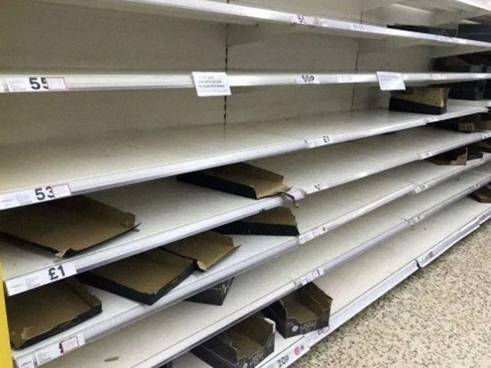 British Shoppers Are Being Urged Not To Panic