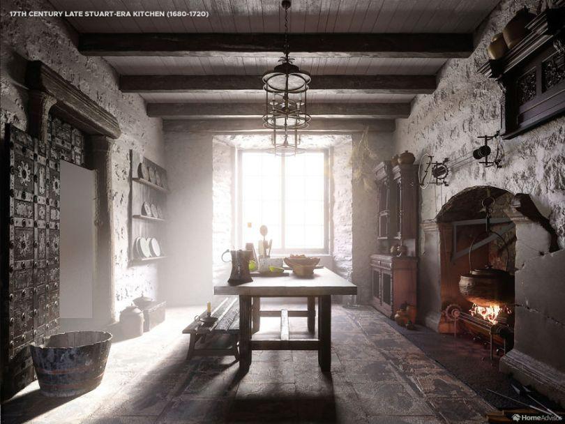02 1600s kitchen 5e8c98d0bffe0  880 - Cozinha refeita digitalmente mostra evolução de 500 anos