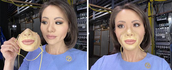 Sf, Ca Artist Creates Realistic-Looking Custom Respirator Masks That Unlocks Iphones