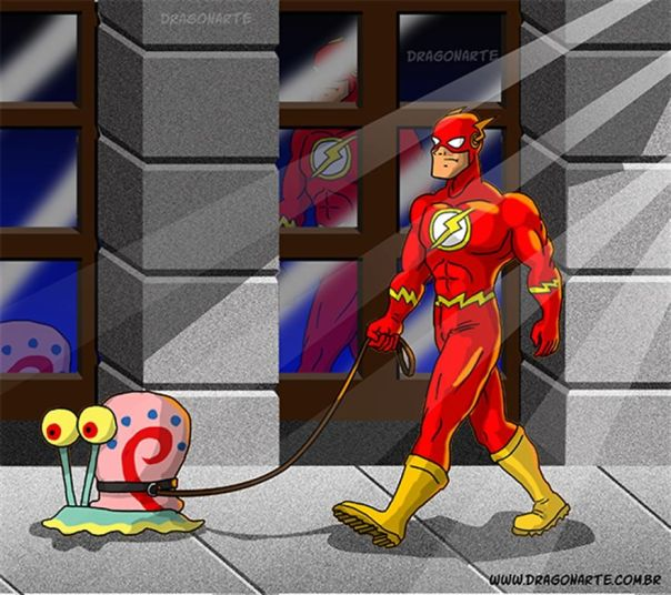 Artist Shows The Daily Lives Of Our Favorite Superheroes And The Result Is Hilarious