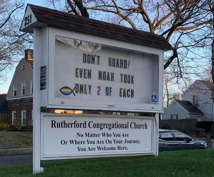 The Church In My Town Makes Me Laugh On A Weekly Basis