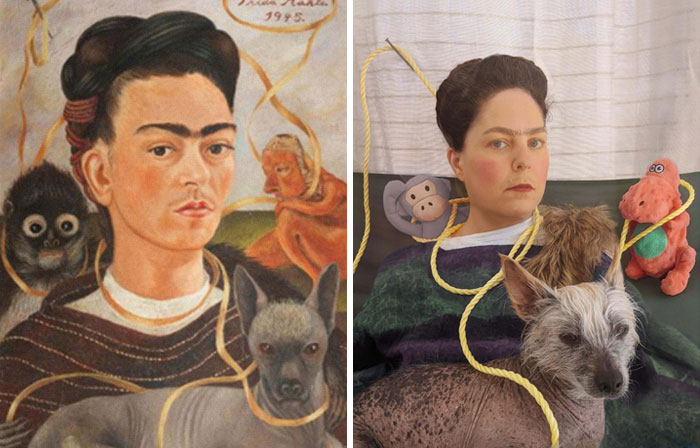 Cuarentena con Frida